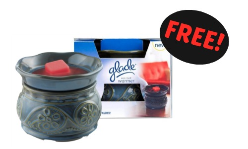 Free Glade Wax Melt Warmer