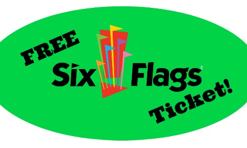 Free Six Flag Ticket