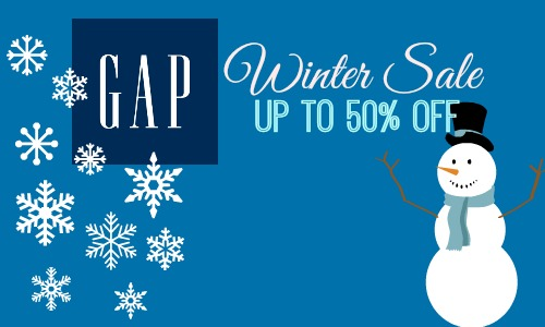 GAP Winter Sale