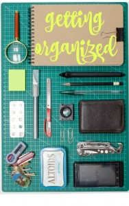 Get organized this year and start now!  Easy ways to organize home, bills and more!