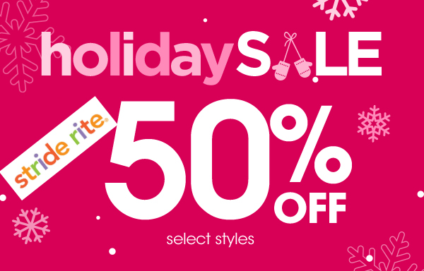 Stride Rite 50% Off Sale