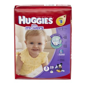 Huggies Little Movers Size 3 #1