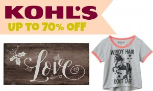 Kohl's After Christmas Sale