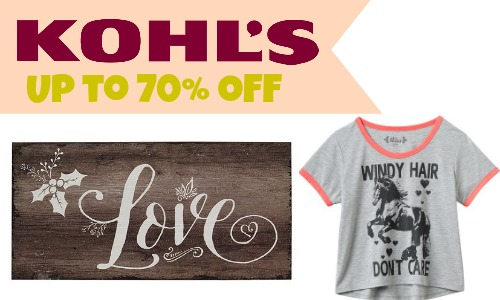 Kohl's After Christmas Sale | 70% Off + New Coupon Codes ...