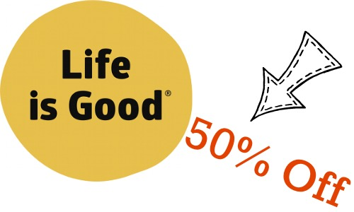 Life is Good Flash Sale