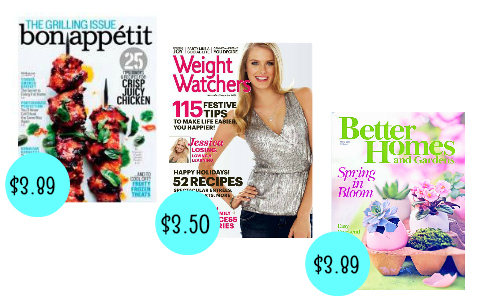 Magazine Subscriptions Under $4