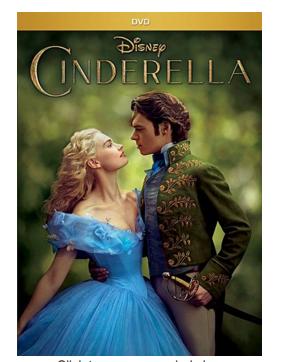 cinderella dvd