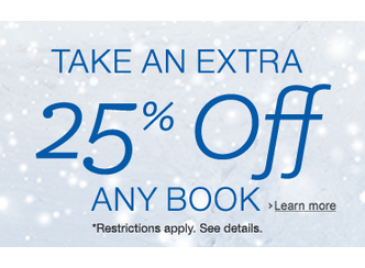 amazon book coupon 25 off book