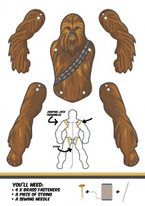 chewbacca-template