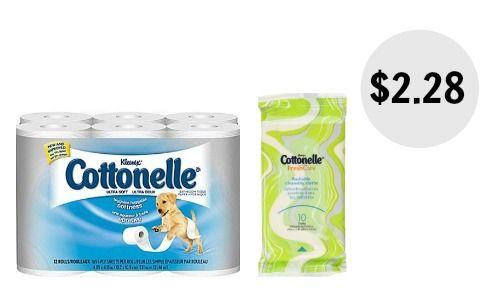cottonelle bath tissue