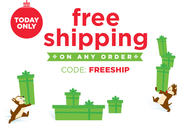 FREE Shipping & Delivery For Christmas!