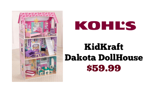 Kohl's Exclusive KidKraft Dakota Dollhouse