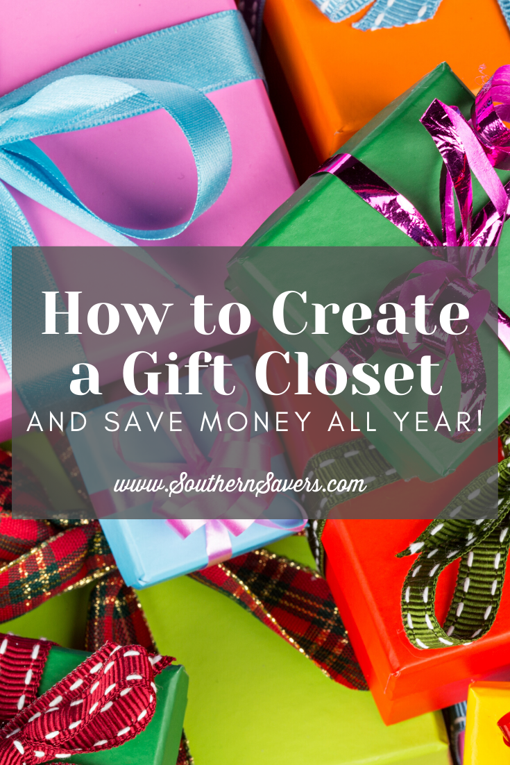 If you're looking for a way to celebrate special occasions and still save money all year, consider these tips on how to create a gift closet!