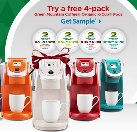 keurig sample