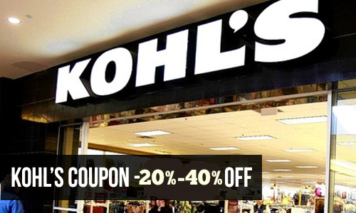 kohls: Coupon Code for Email Signup