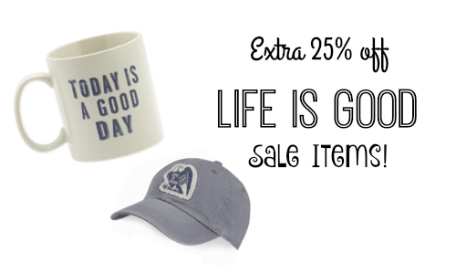 life is good coupon code