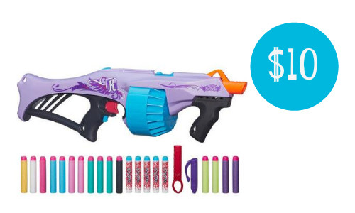 Walmart has a fun deal on the Nerf Rebelle Fire Blaster with 20 darts! You  can get it for $10 (reg. $34.94).