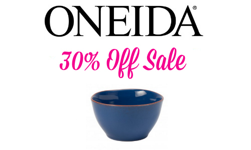 oneida 30% Off Entire Site