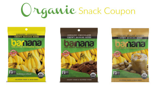 organic snack coupon