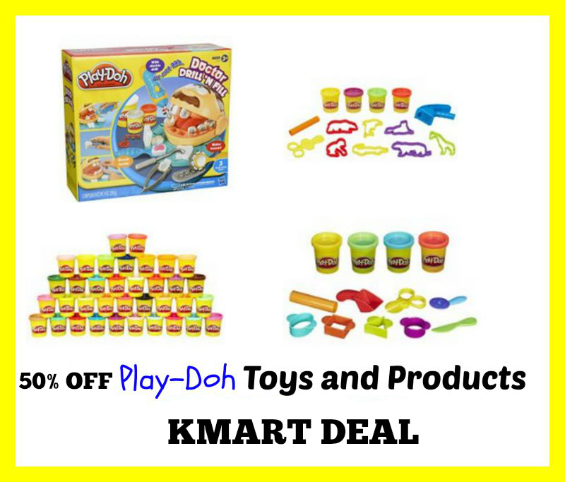 play-doh Kmart Deal