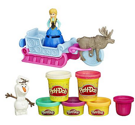 play doh sled adventures