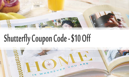Shutterfly Coupon Code 10 Off 10 Purchase Southern Savers