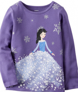 snow princess tee