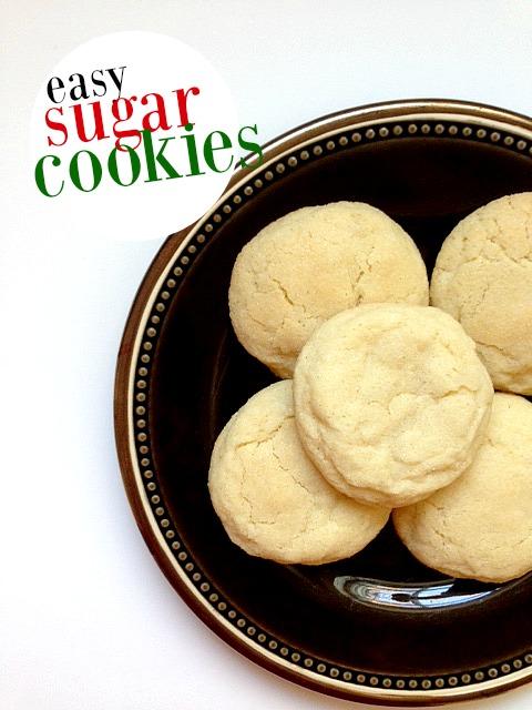 Frugal Recipe: Easy Sugar Cookies