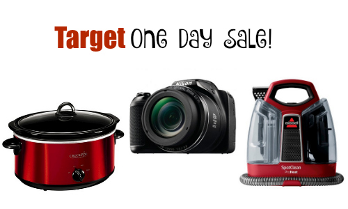 target one day sale