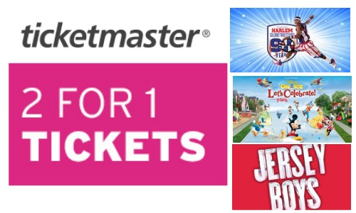 ticketmaster coupon code deal