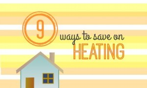 9 ways to save on heating