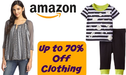 Amazon clothing sale
