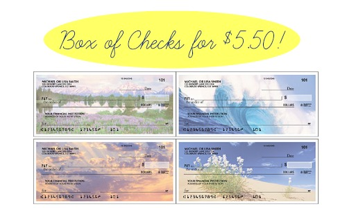 Bi Lo Stores >> Checks Unlimited: Box of Checks for $5.50 :: Southern Savers