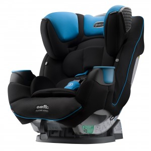 Evenflo SafeMax All-in-One Car Seat - Side