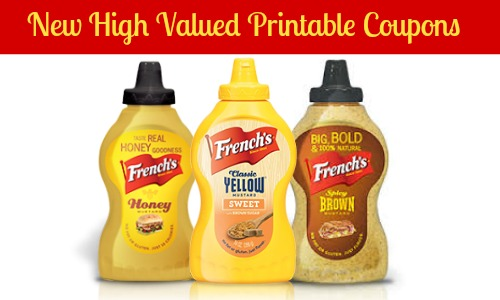 French's Mustard coupons