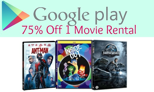 75 off google play rental