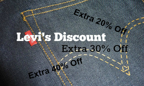Levi's: 75% Off Sale + More
