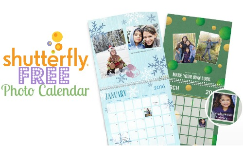 shutterfly coupon code free photo calendar southern savers