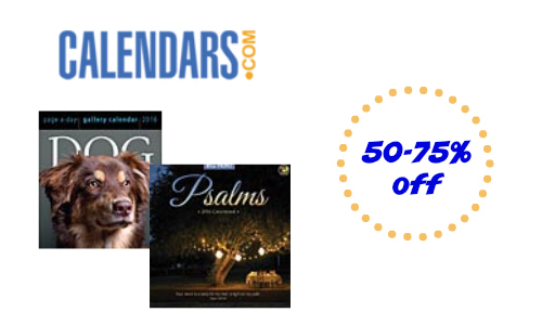 Calendars.com: Up to 75% Off Sale