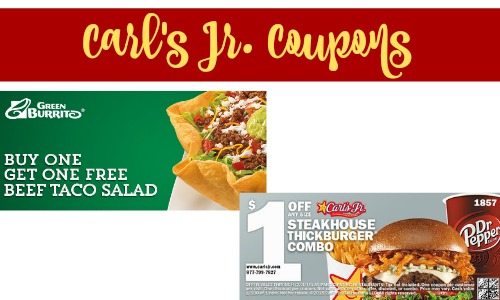 carl's jr. coupon