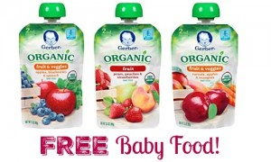 free baby food
