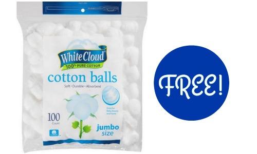 free cotton balls