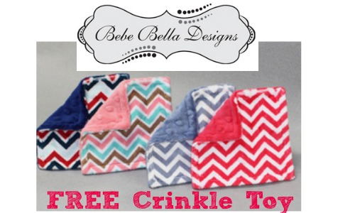 Free Crinkle Toy for Baby