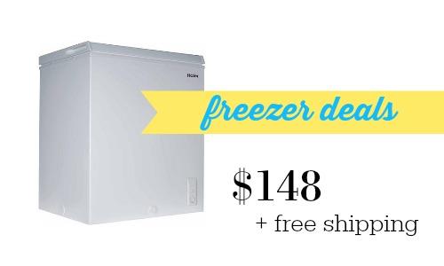freezer deals