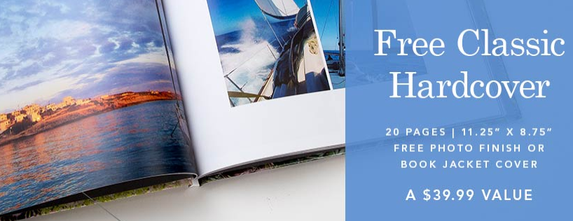 free classic hardcover photo book