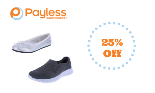 Payless: Extra 25% Off Entire Site