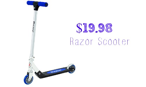 "razor ""b"" kick scooter"
