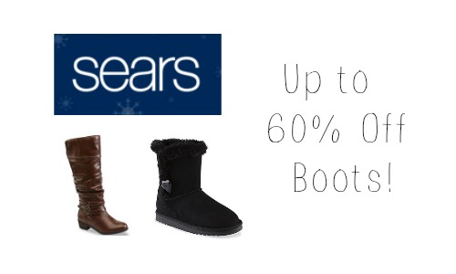 sears boot sale