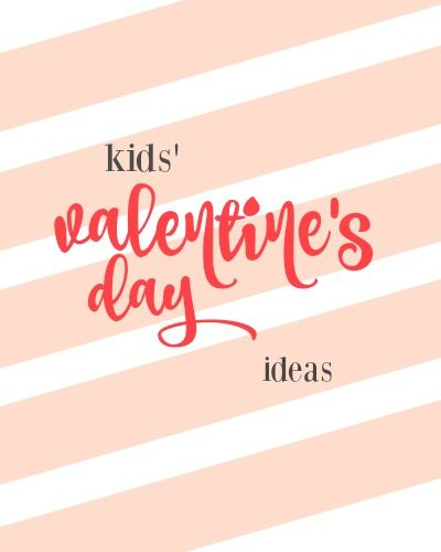 Have kids? Here are some fun Valentine's Day ideas for them. Make recipes, cards, and more.