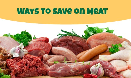 ways to save on meat